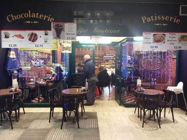 Coffee Shop in West London for sale