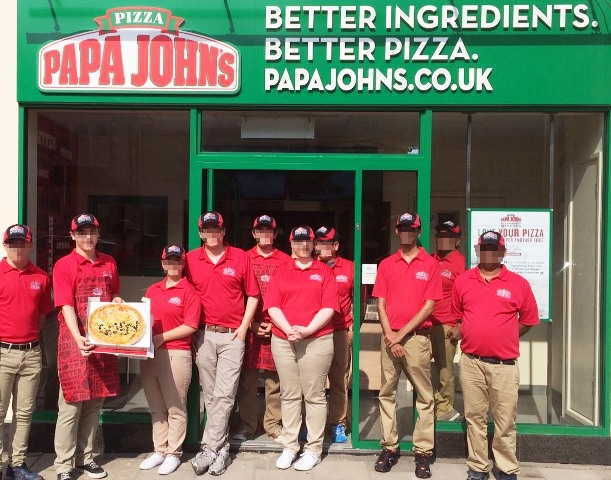 Papa Johns Pizza Takeaway in Lincolnshire For Sale