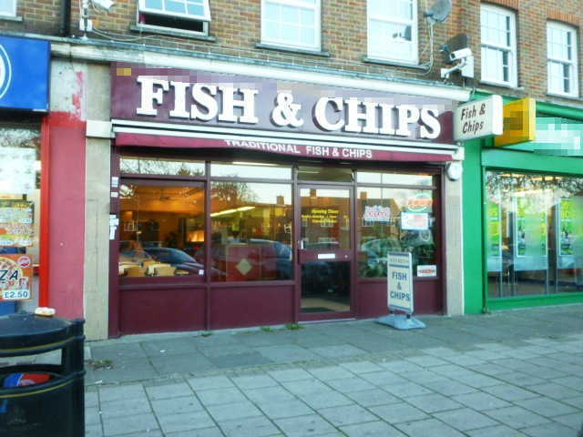 Fish & Chip Restaurant in Middlesex For Sale
