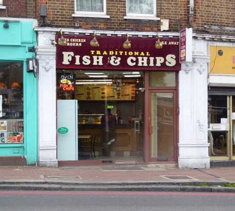 Fish & Chip and Chicken Shop in South London For Sale