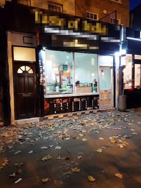 Indian & Sushi Takeaway in South London For Sale