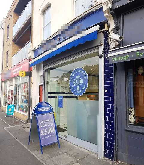 Fish, Chips & Burger Shop in Middlesex For Sale