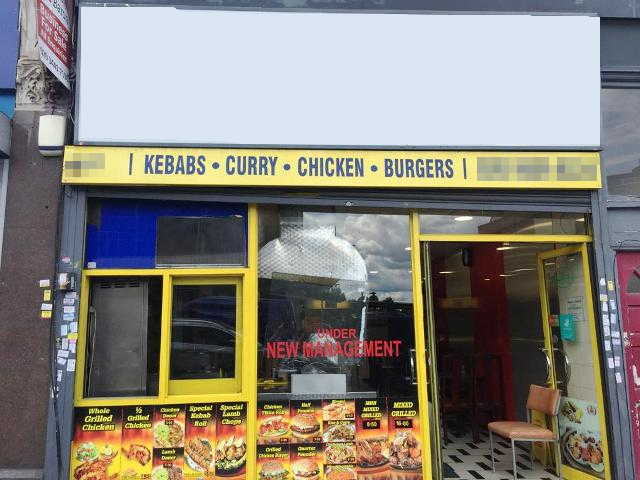Kebab Shop in South London For Sale