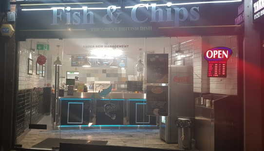 Fish & Chip Shop in Surrey For Sale
