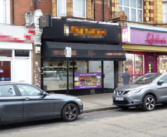 Srilankan Restaurant in East London For Sale