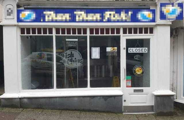 Fish & Chip Restaurant in Cornwall For Sale