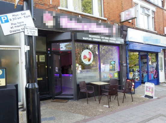 Ice Cream Parlour in Middlesex For Sale