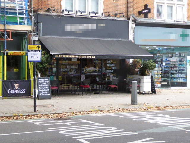 Restaurant & Wine Bar in West London For Sale