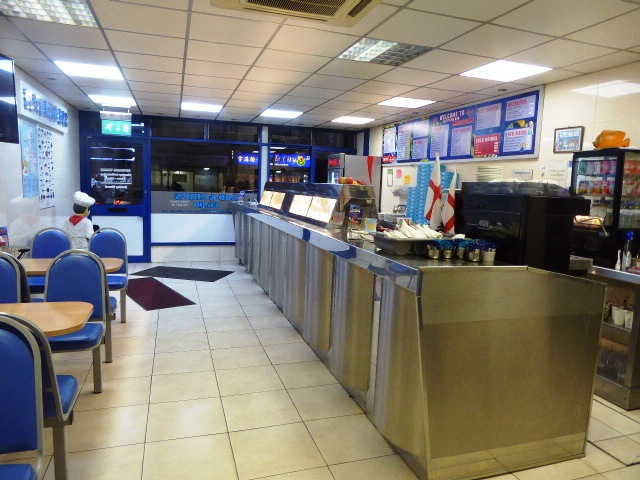 Spacious Fish & Chip Restaurant in Kent For Sale