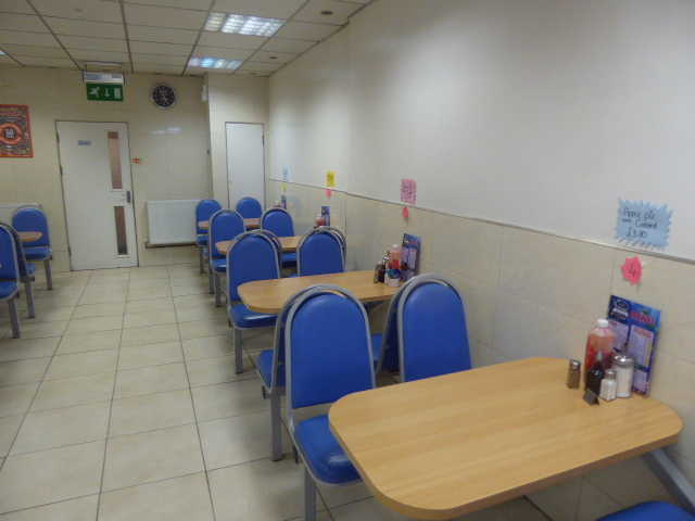 Spacious Fish & Chip Restaurant in Welling For Sale