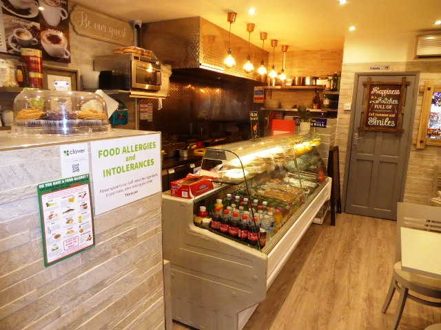 Sell a Cafe & Greek Kebab Shop in Surrey For Sale