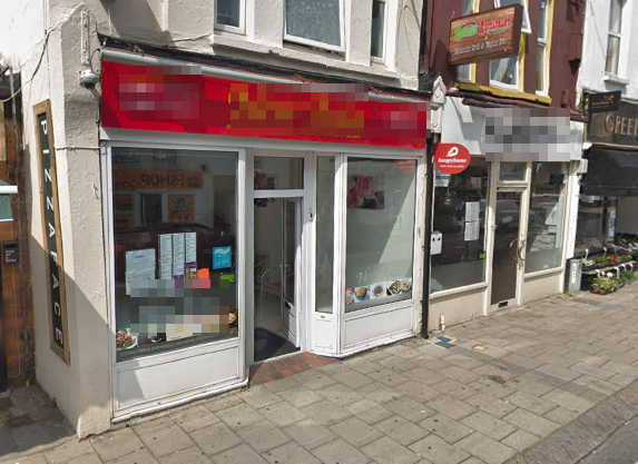 Freehold Chinese Takeaway in West Sussex For Sale