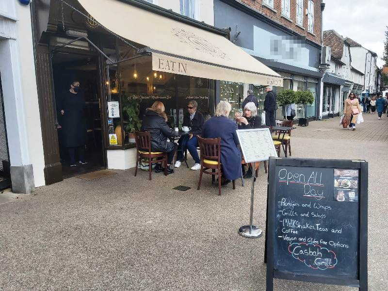 Mediterranean Grill Restaurant in Hertfordshire For Sale