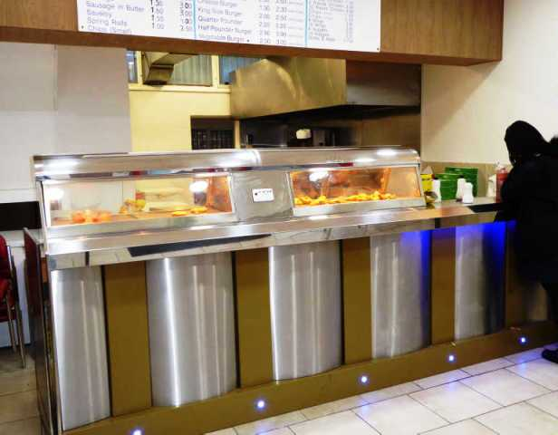 Fish & Chip, Chicken & Kebab Shop in London Bridge For Sale